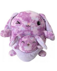 Squishmallow 8 Inch PocketPurple Tie Dye Bunny