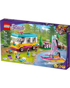 LEGO Friends Forest CamperVan and Sailboat