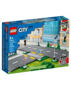 ROAD PLATESLEGO CITY TOWN