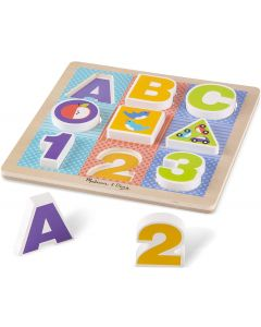 Small Image for FIRST PLAY WOODEN 123-ABC~CHUN