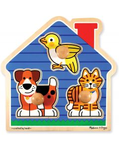 Small Image for HOUSE PETS JUMBO KNOB PUZZLE B