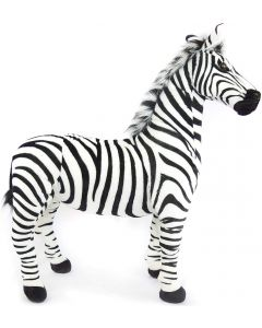 Small Image for Zebra Giant Stuffed Animal by