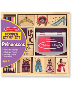 Small Image for WOODEN STAMP SET PRINCESS