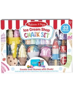 Small Image for ICE CREAM SHOP CHALK PLAY SET