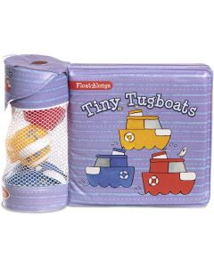 Small Image for FLOAT ALONGS BATH TOY~TINY TUG
