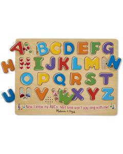 Small Image for PUZZLE 26 PC~ALPHABET SOUND