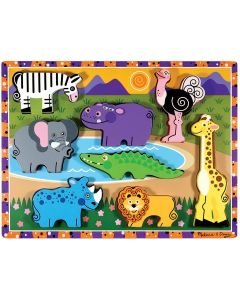 Small Image for SAFARI CHUNKY PUZZLE BY MELISS