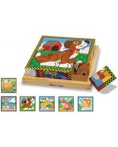 Small Image for PETS CUBE PUZZLE BY MELISSA &