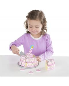 Small Image for TRIPLE LAYER PARTY CAKE~WOODEN
