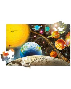 Small Image for PUZZLE 48 PC SOLAR SYSTEM