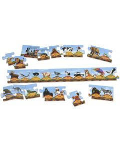 Small Image for PUZZLE 28 PC~ALPHABET TRAIN