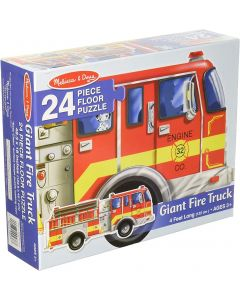 Small Image for PUZZLE 24 PC~GIANT FIRE TRUCK