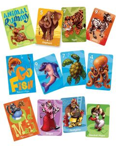 Small Image for CLASSIC CARD GAME SET~ANIMALS