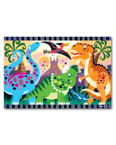 Base Image for Dinosaur Dawn Floor Puzzle