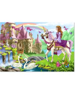 Small Image for PUZZLE 48 PC~FAIRY TALE CASTLE