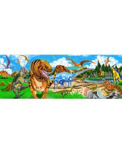 Small Image for PUZZLE 48 PC~LAND OF DINOSAURS