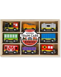 Small Image for WOODEN TRAIN CARS