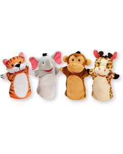 Small Image for ZOO FRIENDS HAND PUPPETS