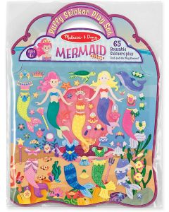 Small Image for PUFFY STICKER PLAY SET~MERMAID