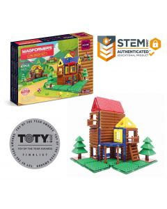 Base Image for MAGFORMERS~87 PC LOG HOUSE SET