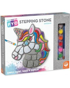 Small Image for PAINT YOUR OWN~STONE UNICORN
