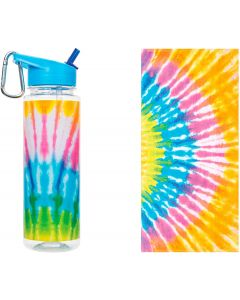 Small Image for TIE DYE TOWEL & BOTTLE