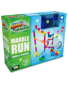 Small Image for MULTI-COLORED MARBLE RUN~60PC