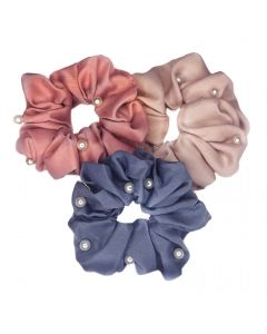 Small Image for SCRUNCHIES~PEARL 3 PACK