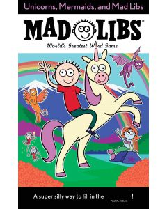 Small Image for UNICORNS MERMAID MAD LIBS~BOOK