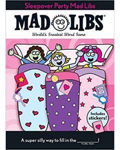 Small Image for SLEEPOVER PARTY MAD LIBS~BOOK