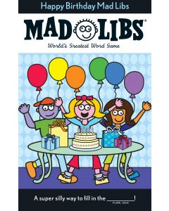 Small Image for HAPPY BIRTHDAY MAD LIBS~BOOK