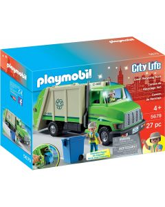 Small Image for CITY LIFE~GREEN RECYCLING TRUC