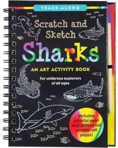 Small Image for SCRATCH & SKETCH~SHARKS BOOK