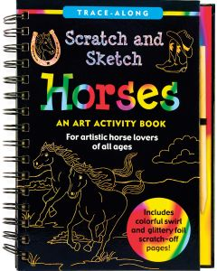 Base Image for SCRATCH & SKETCH~HORSES BOOK