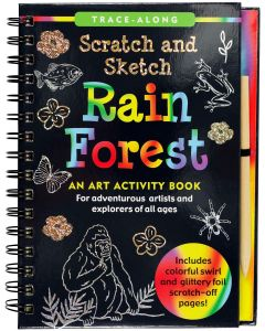 Small Image for SCRATCH & SKETCH~RAIN FOREST B