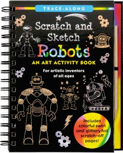Small Image for SCRATCH & SKETCH~ROBOTS BOOK