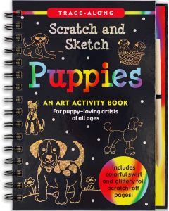Small Image for SCRATCH & SKETCH~PUPPIES BOOK