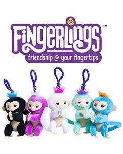 Small Image for FINGERLINGS PLUSH CLIP ON