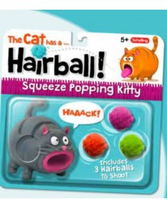 Hairball Kitty PopperOne Assorted Style
