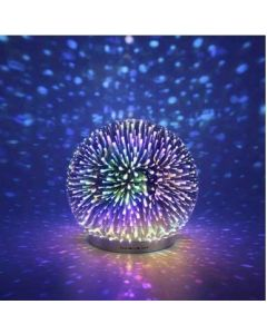 Small Image for Infinity Mirror Ball LED Light