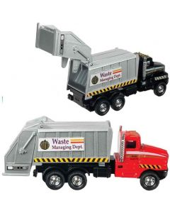 Small Image for METAL CITY GARBAGE TRUCK