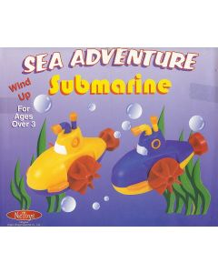 Small Image for WIND UP SUBMARINE~ASSORTED COL