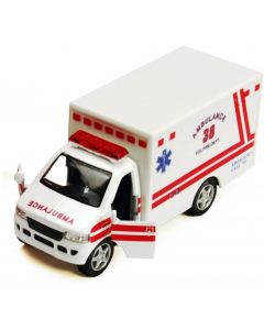 Small Image for 5 INCH DIECAST AMBULANCE