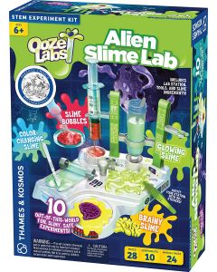 Base Image for OOZE LABS ALIEN SLIME LAB~STEM