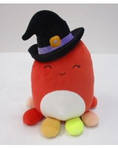 Squishmallow 8 Inch Halloween Octopus Witch-2
