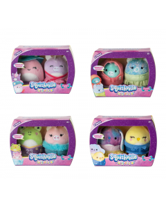 Squishmallow Squishville Minimallow 2 Pack with Fashion Accessories-1