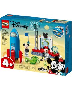 Mickey Mouse & Minnie  Mouse's Space Rocket-1