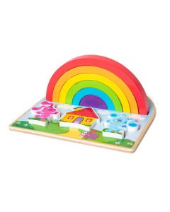 BLUES CLUES RAINBOW STACKER PUZZLE-8