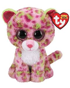 Small Image for 6 INCH BEANIE BOOS~LAINEY LEOP
