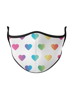 Small Image for KIDS MASK AGES 3-7~MULTI HEART